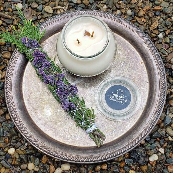 Lilac Magick Sacred Smoke Wand