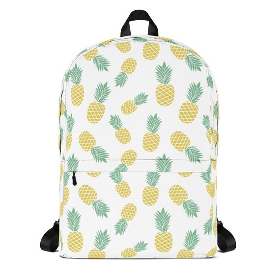 Pineapple Backpack Small Backpack Cute Backpack Kids Etsy