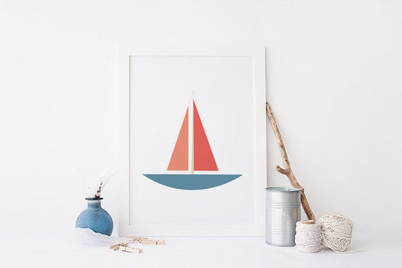 photo about Sailboat Printable known as Printable Nautical Artwork, Sailboat Instance, Sailboat Printable, Sailboat Nursery Wall Artwork, Nautical Wall Artwork, Nautical Printable