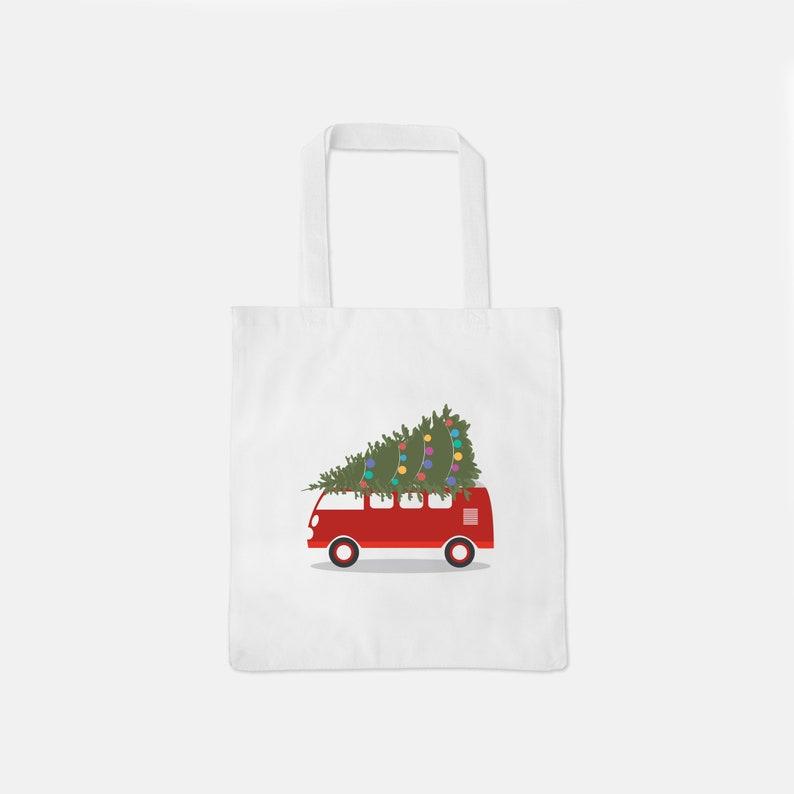 Christmas Bag Xmas Bag Xmas Tote Cotton Tote Bag Christmas Cotton Tote Cotton Canvas Tote Heavy Christmas Tote Bag Holiday Tote Bag