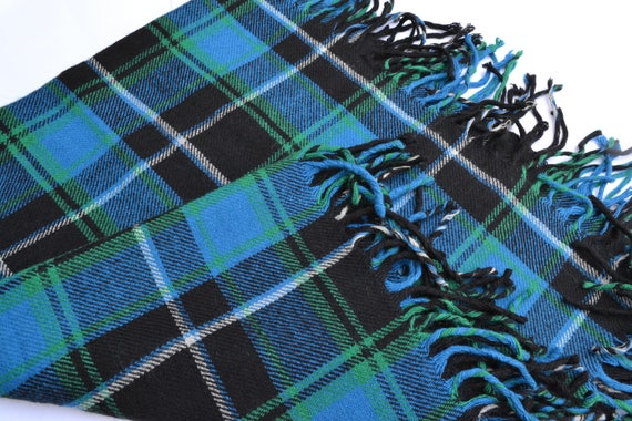 Vintage Blanket Scarf Winter wraps Scarf Vintage w