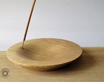 Incense Holder in  Oak