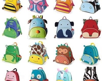 4eced0ce973b Monogrammed Toddler Backpacks