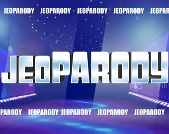 Customizable Jeopardy Powerpoint Template - PC Mac and iPad compatible - Fun Game