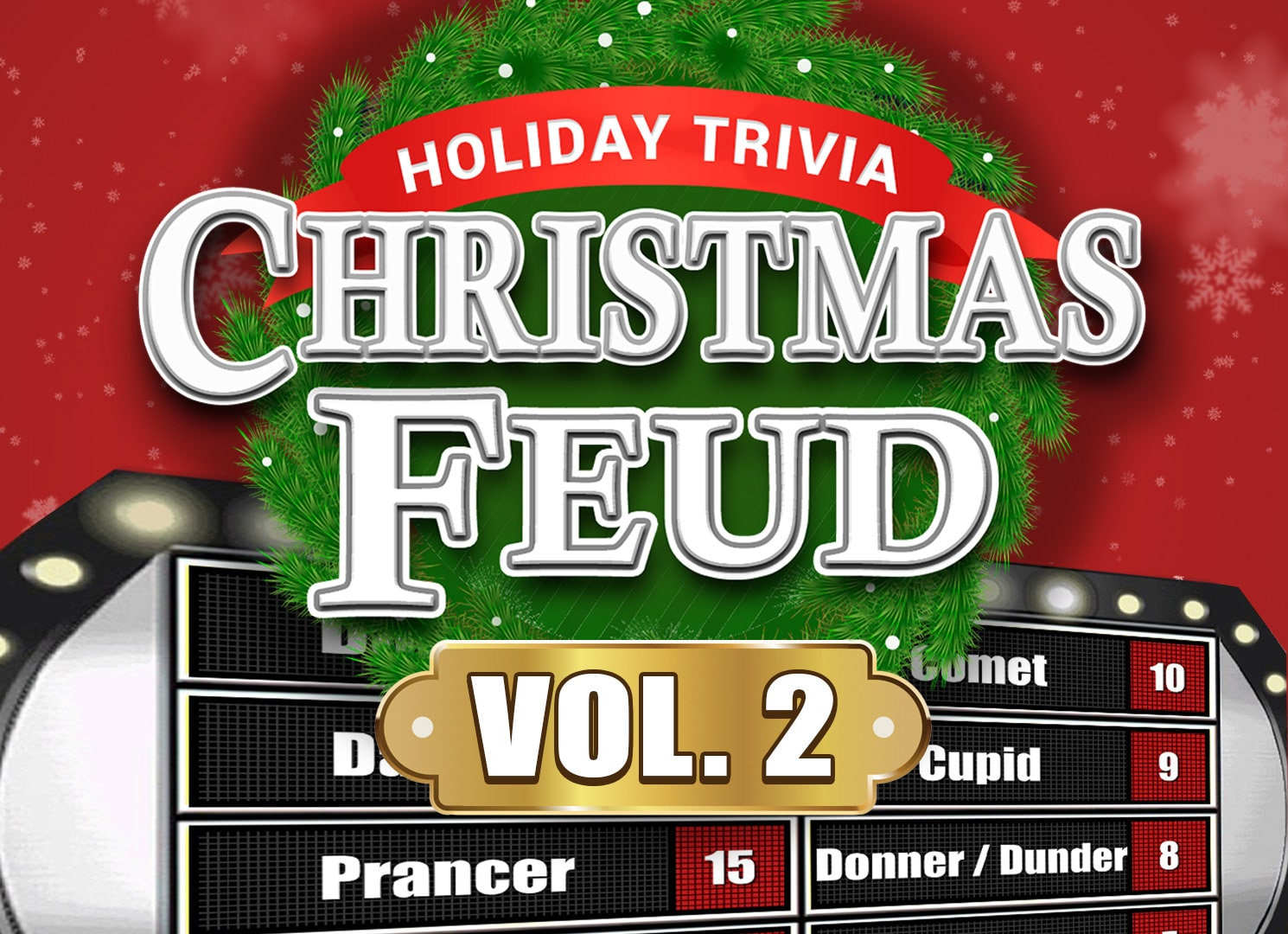 Christmas Feud Vol. 2 Family Feud Trivia Powerpoint Game | Etsy