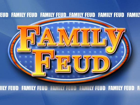 Customizable Family Feud Powerpoint Template