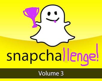 Snapchallenge Volume 3 - Snapchat Themed Photographic Memory Game