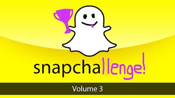 Snapchallenge Volume 3 - jeu de mémoire photographique sur le thème de Snapchat