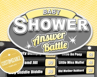 baby shower games virtual