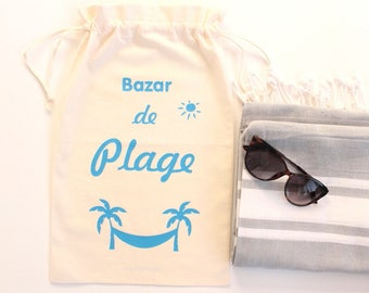 Big pouch bag was 'Bazar de Beach' super convenient