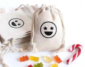 Pouch emoticon candy welcome gifts for birthday events