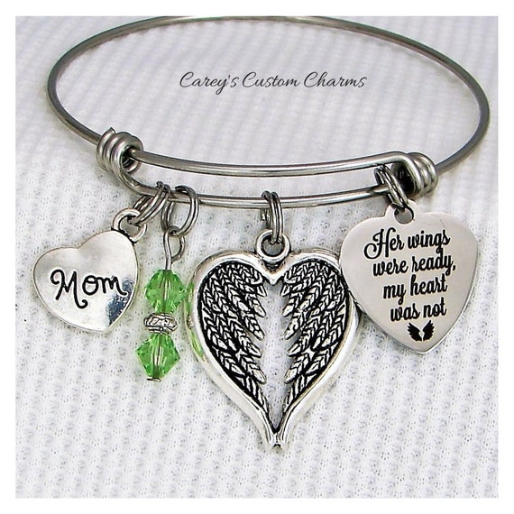 Hummingbird Bracelets for Women Sympathy Jewelry Hummingbird Girls for Mom Loss of Sister Sympathy Gifts in Memory of Mother Grandmother Remembrance Gifts Memorial Bracelets