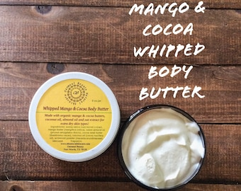 Whipped Mango & Cocoa Body Butter