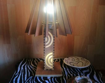 Sonia, Double lighted table lamp. In pre-sale with discount 30%