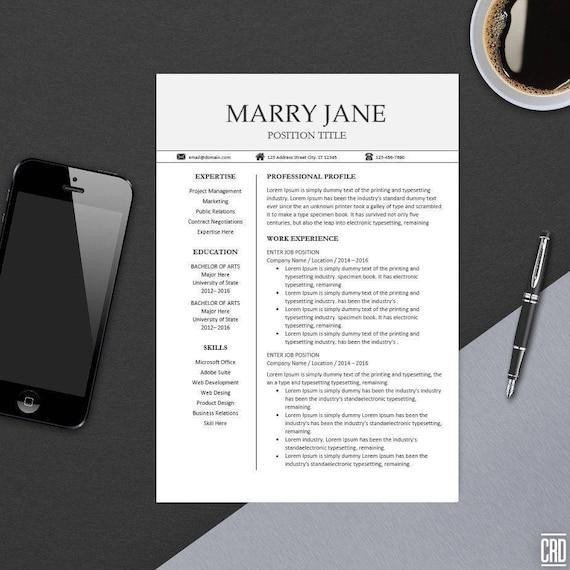 modern professional resume templates