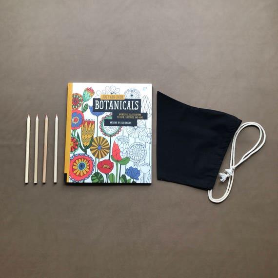 Pixie Bonnet // Black // Pull String
