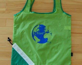 Lime Packable Reusable Shopping Bag