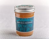 Honey & Lemon Apple Jam...
