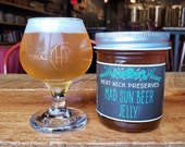 Hysteria Brewing Company's Mad Sun Beer Jelly