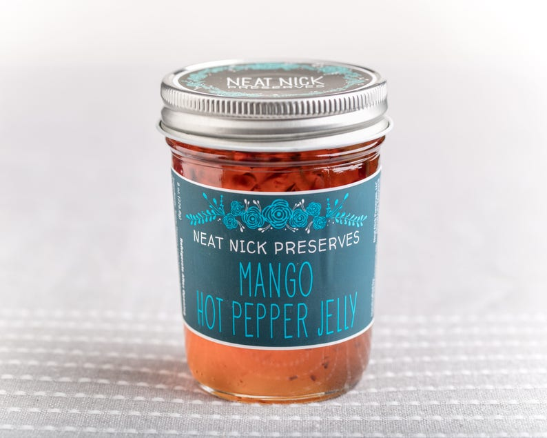 Mango Hot Pepper Jelly image 0