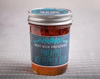 Pineapple Hot Pepper Jelly