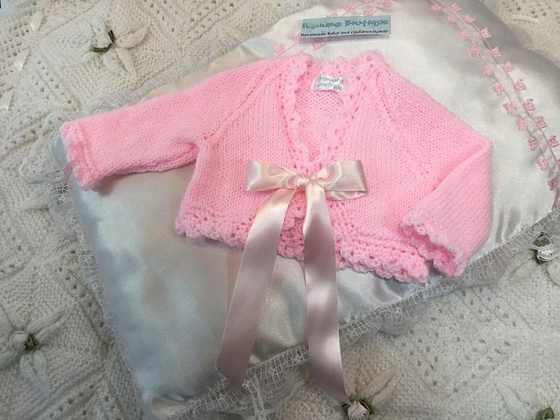 9c7c1dc1b Hannahs Boutique Newborn Baby Girls Pink Hand Made Spanish   Etsy