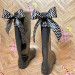 Monogramed rain boots with bows , Rain Boots, Rubber rain boots, Boots, Mud Boots, Personalized Mud Boots