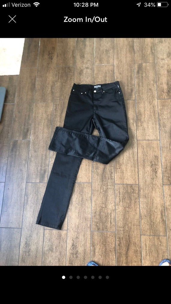 Vintage Straight cut Versace Jeans, high rise size