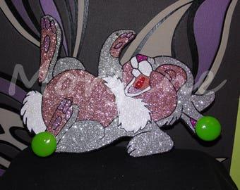 Rabbit kids coat rack