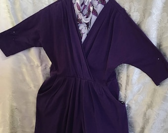 Jumpsuit by Fina Fina/Deep Purple/Size M