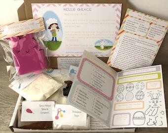 Childrens Baking Subscription Box, Toddler Baking, Baking & Crafts, Cooking Box, Craft Box, Baking Box, Bake At Home Box, Cooking Box