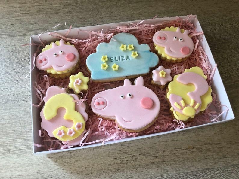 Peppa Pig Biscuit Gift Set Peppa Pig Cookie Peppa Pig image 0
