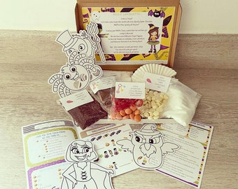 Halloween Baking Box, Toddler Baking, Baking & Crafts, Cooking Box, Craft Box, Baking Box, Bake At Home Box, Halloween Activity, Spooky