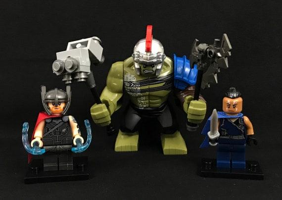 The Hulk Thor Ragnarok Movie Figure Custom Lego Minifigures Big Minifigures