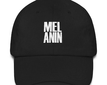 Melanin Black Pride Black Empowerment Black Girl Magic Melanin Dad Hat  Melanin Mom Gift Baseball Cap f3eae77887fa