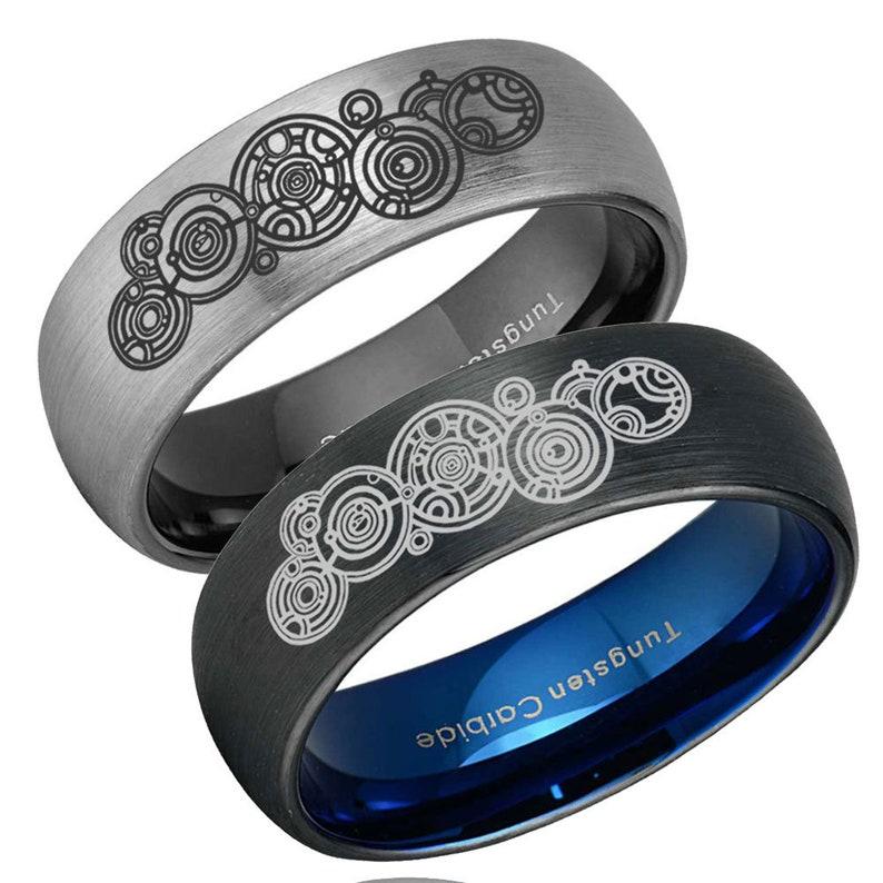 24K Gold Over 925K Sterling Silver Ring Designer Handmade Hammered 6 mm Wide Band Blue Topaz Ring Ancient Style Boho signet ring Dainty