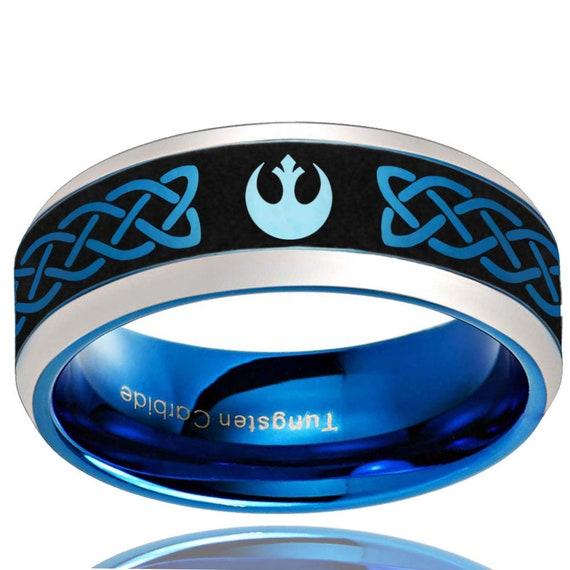 Star Wars La Alianza rebelde dejar pendientes para mujeres Plata Plateado Joyería De Star Wars