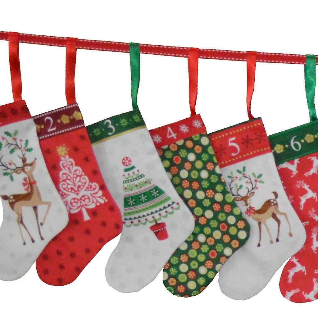 Traditionelle Weihnachten Mini Strümpfe Advent Kalender | Etsy