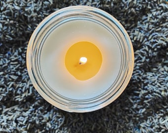 INNER PEACE | Aromatherapy Soy Candle | Pure Lavender Essential Oil | Meditation | Inner Peace | Yoga | Eco-Friendly