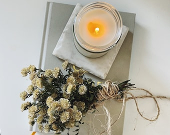 A SHOT OF COURAGE | Aromatherapy Soy Candle | Cedarwood Essential Oil| Strength | Courage | Stress Relief | Minimalist Candle
