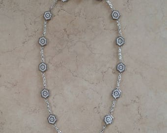 Collier peyote en perles MIYUKI DELICAS 11/0