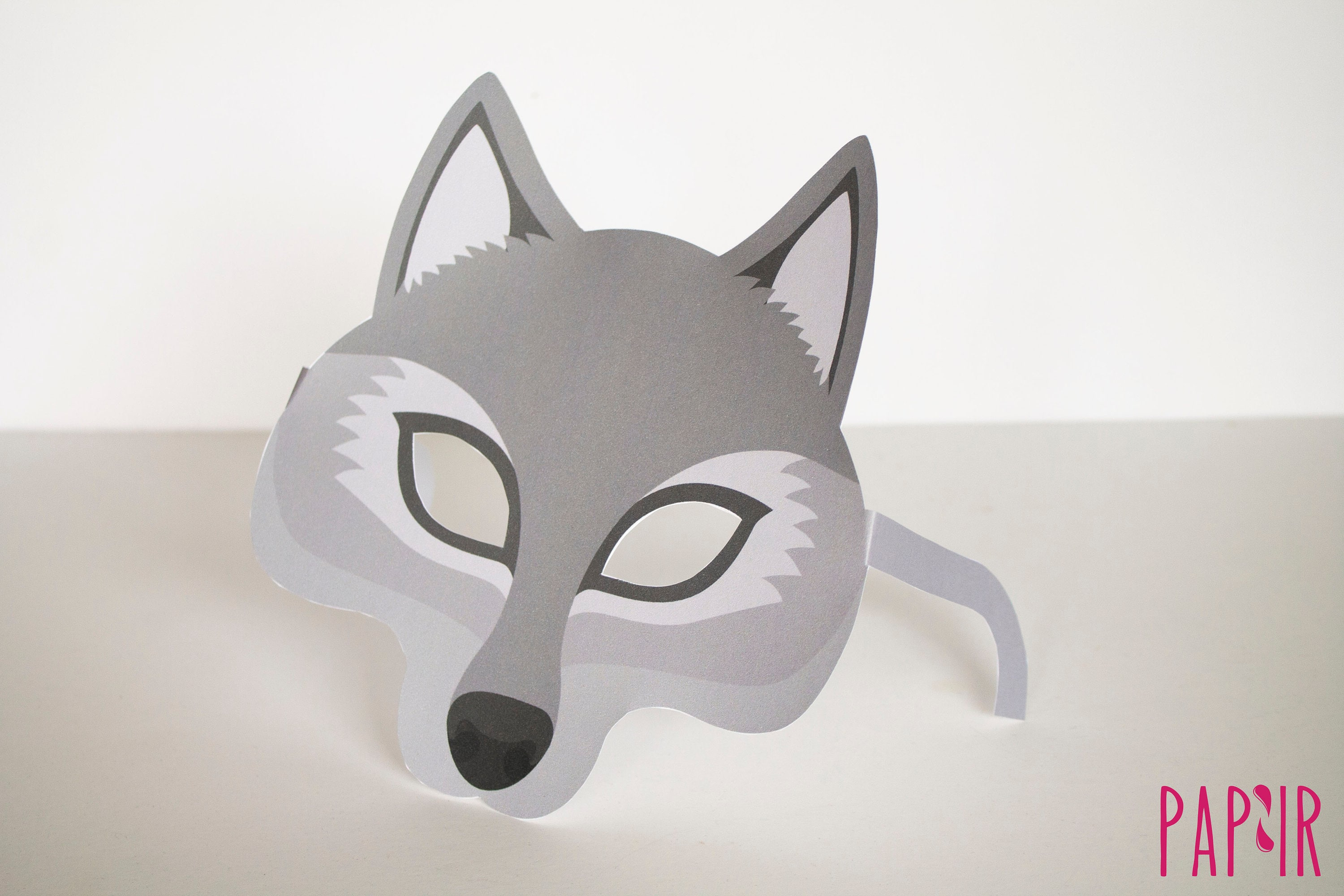 photo regarding Printable Wolf Mask referred to as PRINTABLE Wolf Mask animal mask, encounter mask, eye mask, masquerade mask, wolf gown, wolf ears, paper mask, Halloween mask, social gathering favors