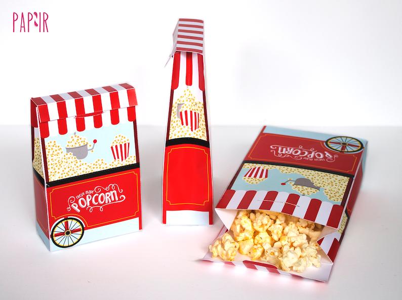 photograph regarding Popcorn Bag Printable referred to as PRINTABLE Popcorn Box popcorn bag, popcorn like bag, goody box, popcorn favors, popcorn luggage, popcorn occasion choose, popcorn box like