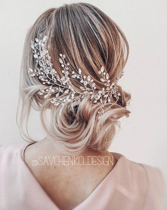 wedding hair pieces -bridal headband - bridal