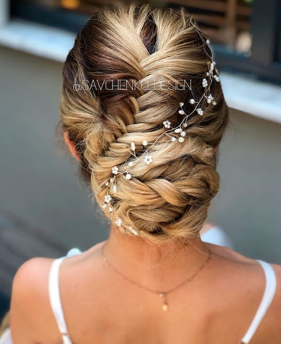 Hair pieces for wedding Beach wedding Bridal