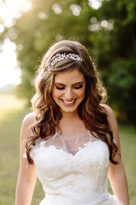 Wedding Headpiece Wedding Hairstyles With Tiara Crystal Headpieces Bridal Halo Bridal Hair Accessories Haarband Haarschmuck Bridal Tiara