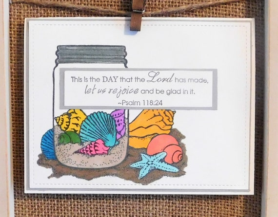 Thinking of you scripture verse homemade greeting card etsy image 0 m4hsunfo