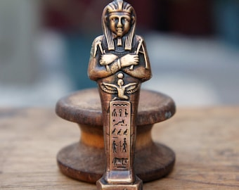 Vintage French Brass Stamping/Antique Style/Mummy/Ancient/Egyptian/French Findings