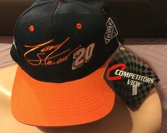 b2b50669594cb Deadstock Tony Stewart Home Depot NASCAR Snapback Hat 90 s