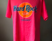 Hard Rock Cafe Orlando Save The Planet T-Shirt L 90 s
